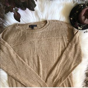 Cable & Gauge Oversized Sweater